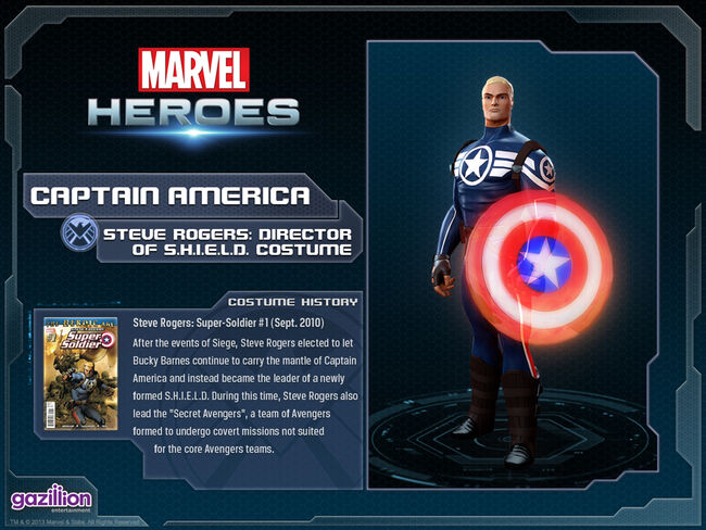 Costume captainamerica supersoldier