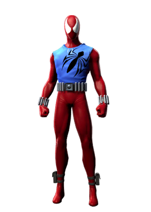 F spiderman scarletspider