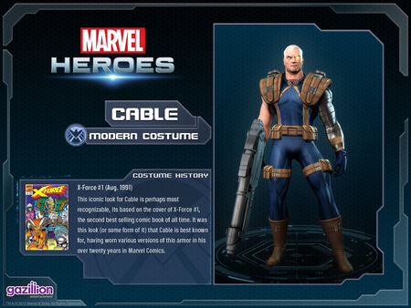 Costume cable modern