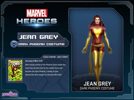 Costume jeangrey darkphoenix