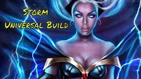Marvel Heroes Universal Storm Build