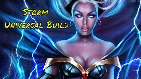 Marvel Heroes Universal Storm Build