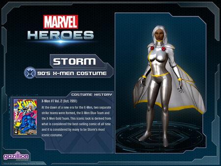 Costume storm 90s