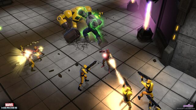 File:Ms. Marvel, Hulk and Iron Man teamed up to fight AIM.jpg