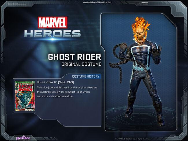 Costume ghostrider original