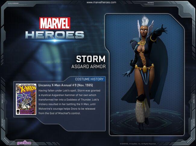 Costume storm asgard