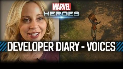 Marvel Heroes Developer Diary 4 - Voices