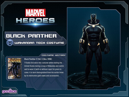 Costume blackpanther wakandantech