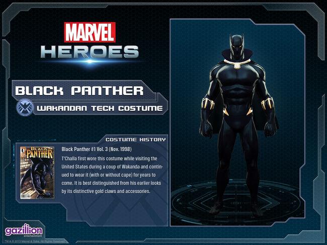 Costume blackpanther wakandantech