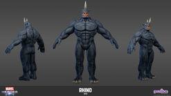 Rhino model sheet