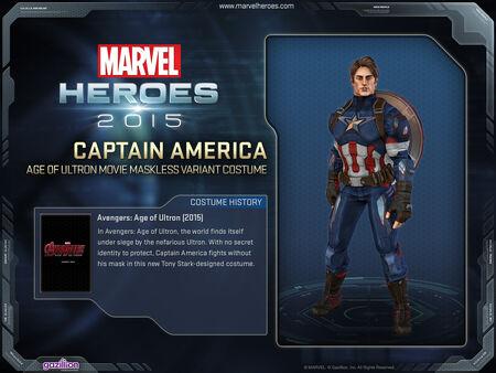 Costume captainamerica AoU variant