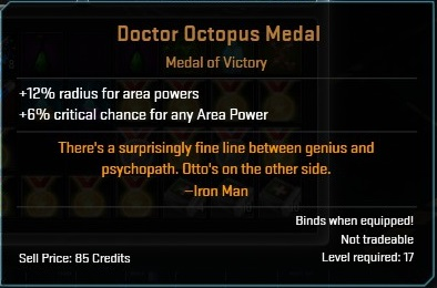 Doctor octo medal