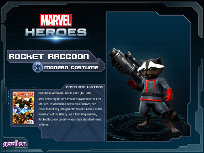 Costume rocketraccoon base