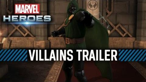 Marvel Heroes - Villains Trailer