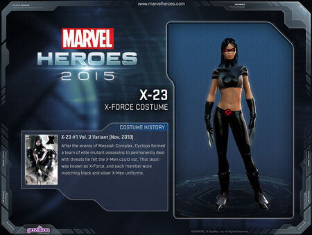 Costume x23 Xforce