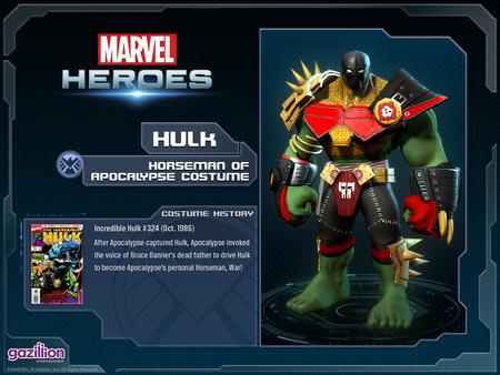 Hulk Hulk As War Costume