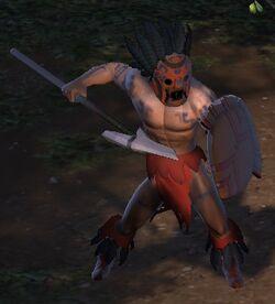 Character - Cliffwalker Tribe Warrior