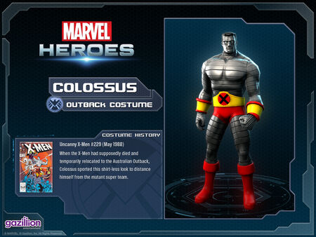 Costume colossus outback