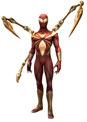 F spiderman ironspider