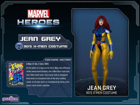 Costume jeangrey 90s