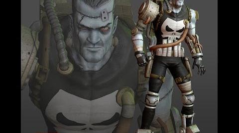 Marvel Heroes Franken Castle Limited Team Up