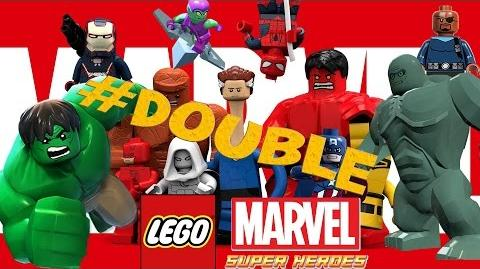 Lego Marvel Super Heroes 1 - 2 - 3 - 4 - 5 - 6 Double Game Full Movie