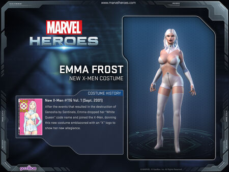 Costume emmafrost newxmen