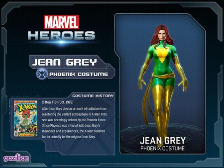 Costume jeangrey phoenix