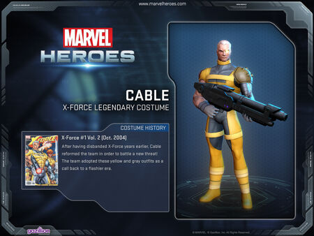 Costume cable xforcelegendary