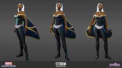 MarvelHeroes ModelSheet Storm Modern