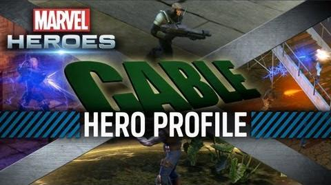 Marvel Heroes - Cable Hero Profile