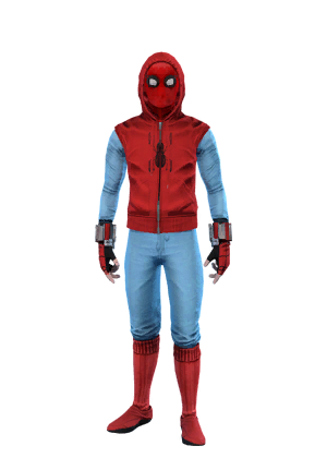 F spiderman homemadewithhood