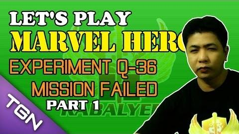 Let's Play Marvel Heroes - Experiment Q-36 Mission Failed (Part 1)
