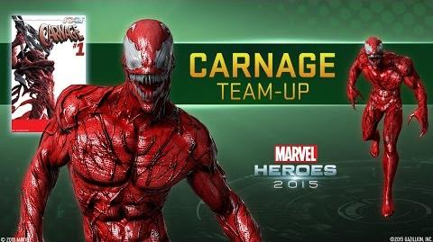 "Carnage Team-Up - Marvel Heroes 2015 - Featuring ""Carnage Rules"" by Green Jelly"