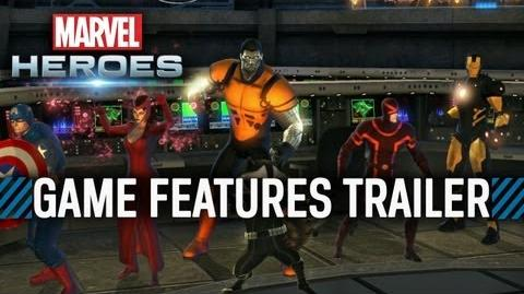 Marvel Heroes - Game Features Trailer