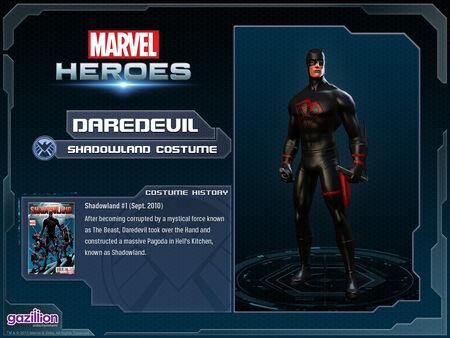 Costume daredevil shadowland