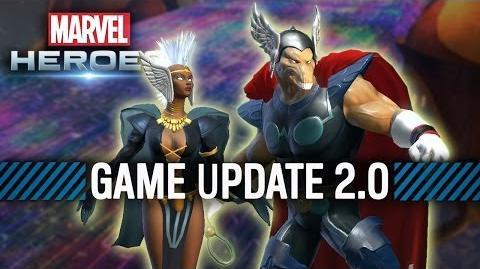 Marvel Heroes Game Update 2.0 -- Asgard