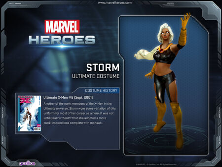 Costume storm ultimate