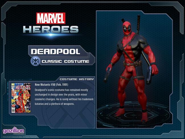 Costume deadpool base