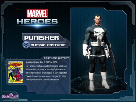 Costume punisher classic