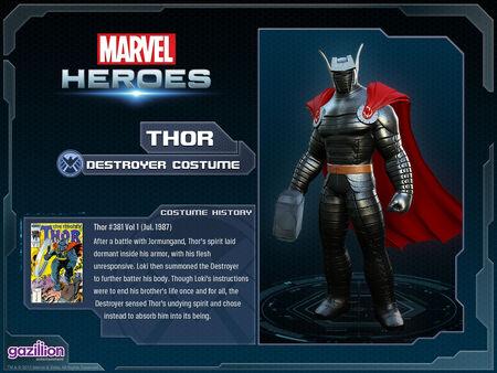 Costume thor destroyer