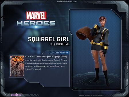 Costume squirrelgirl glx
