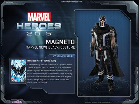 Costume Magneto MarvelNowBlack