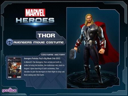 Costume thor movie
