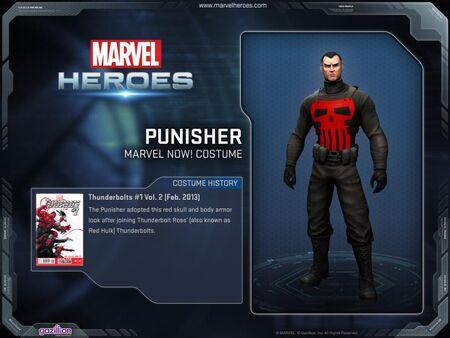 Costume punisher marvelnow