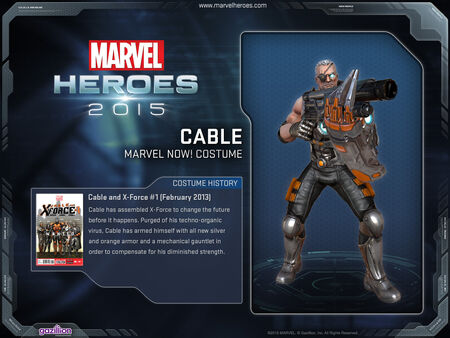 Costume cable marvelnow