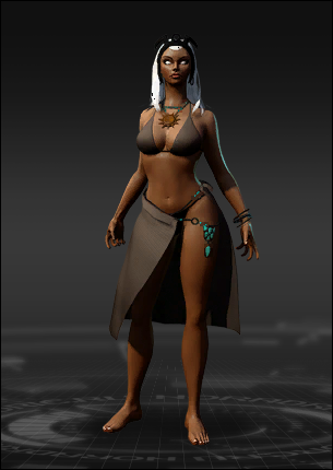 Storm African Goddess Costume