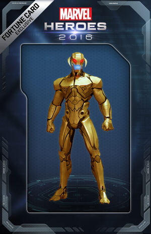 Costume Ultron AoU Gold