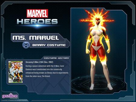 Costume msmarvel binary