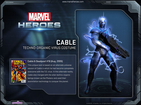 Costume cable techno